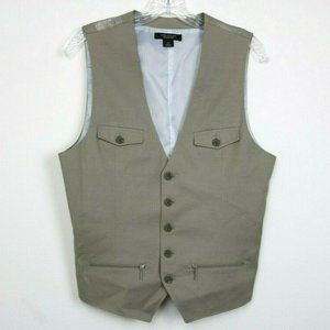 Structure Collection Men Vest Sleeveless Buttons